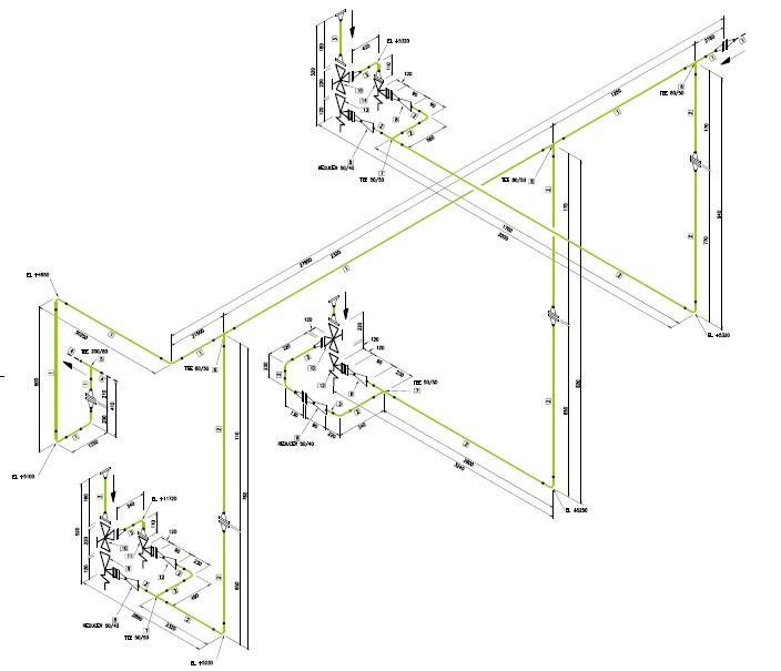 isometrie op basis van 3D laserscanning